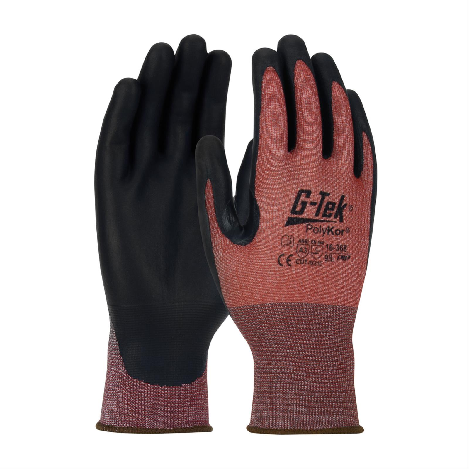 G-Tek® PolyKor® X7™ NeoFoam&reg Blended Glove.  ANSI Cut Level A3