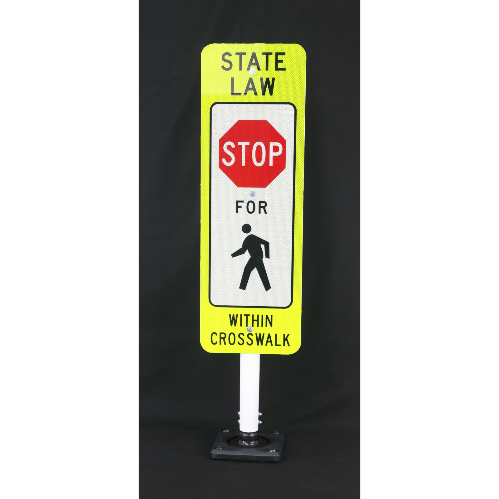 Portable Sign Stand System with Reboundable Base