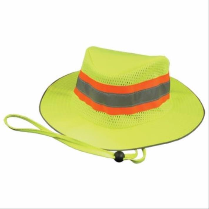 Two Tone Ranger Hat, One Size Fits All, Lime