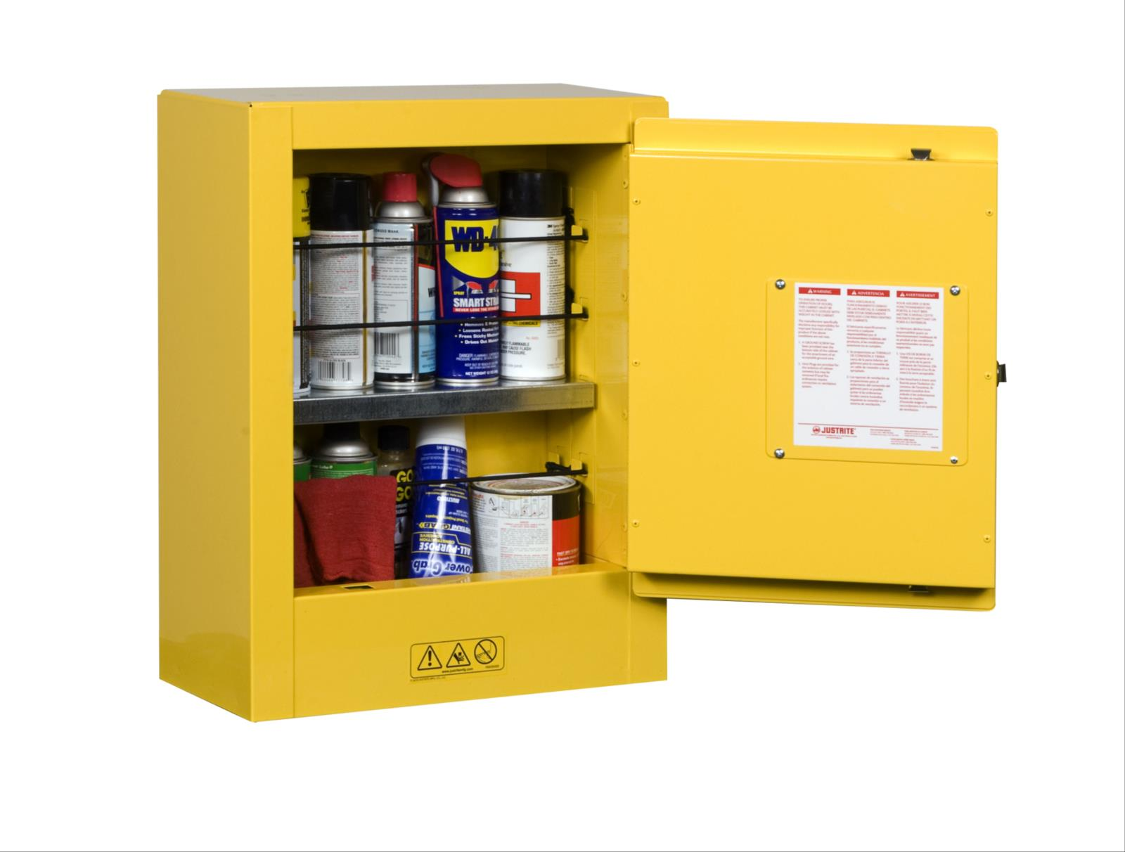 Sure-Grip® EX Mini Flammable Safety Cabinet, Transportable