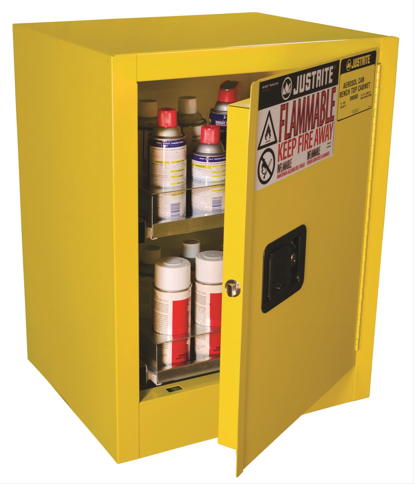 Aerosol Can Benchtop Cabinet
