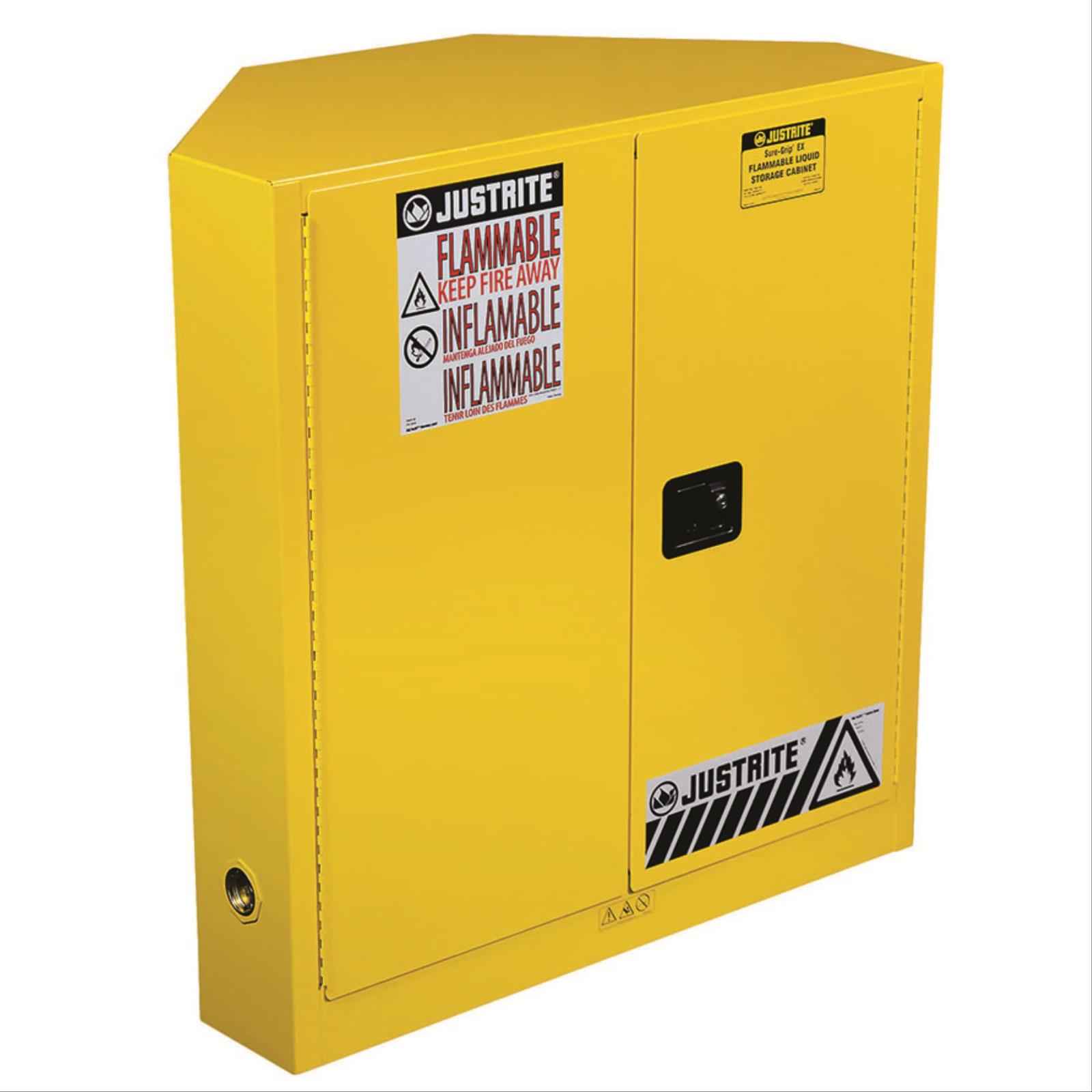SURE-GRIP® EX Corner Flammable Safety Cabinet