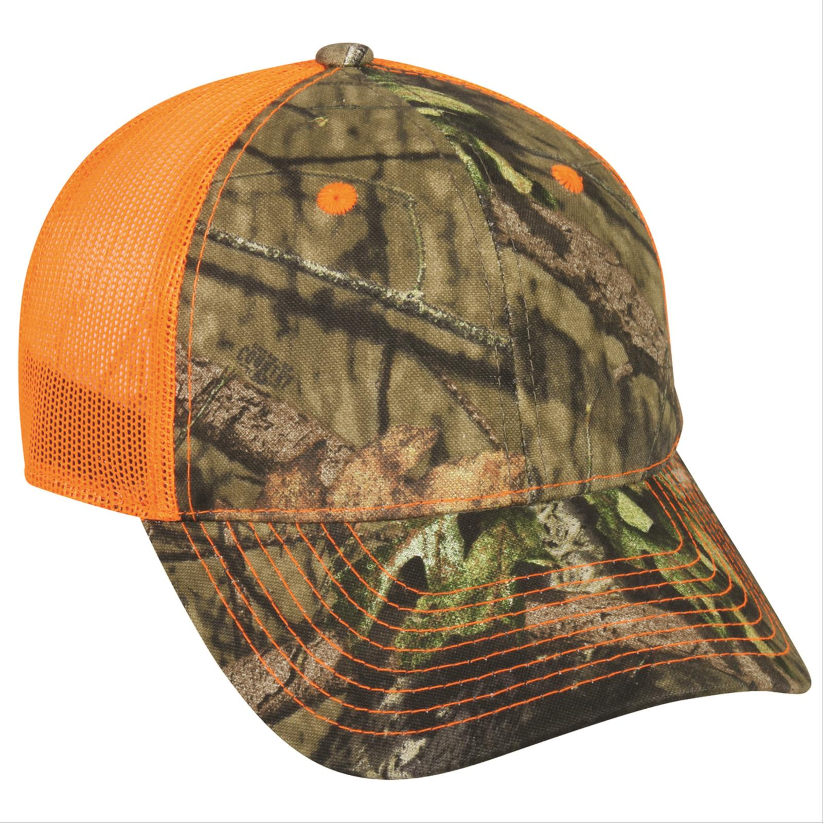 Outdoor Cap®, Camo Front and Mesh Back