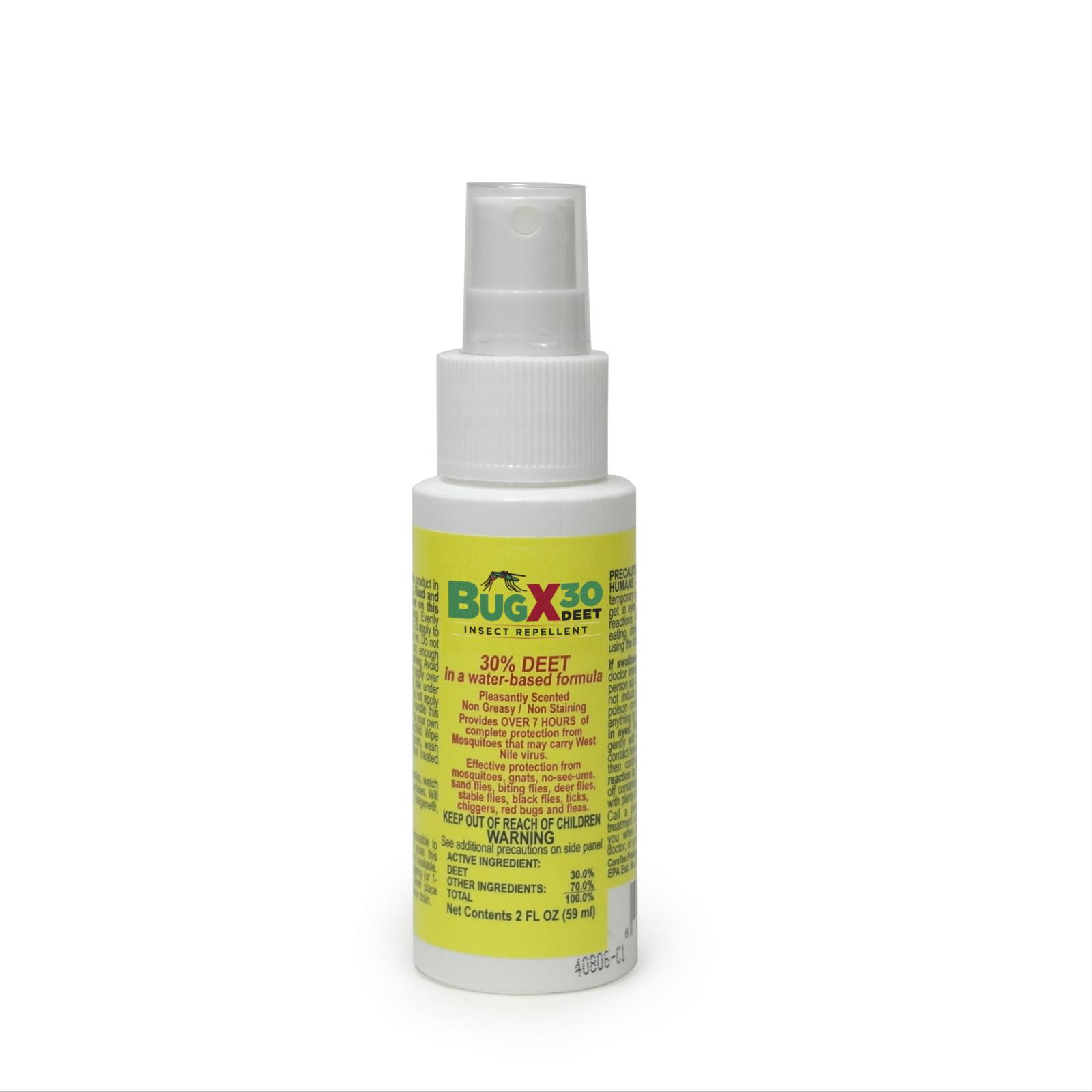 BugX® 30 DEET Insect Repellent