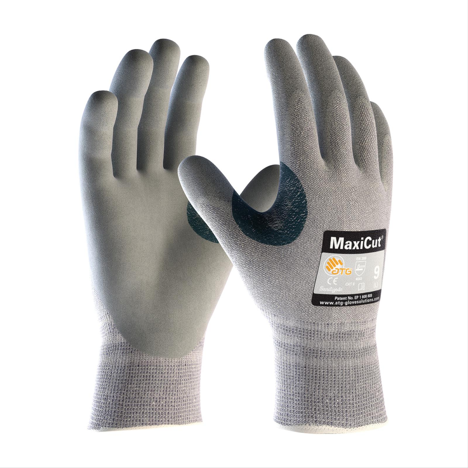 MaxiCut® Grey Foam Nitrile Coated, Cut Level A4