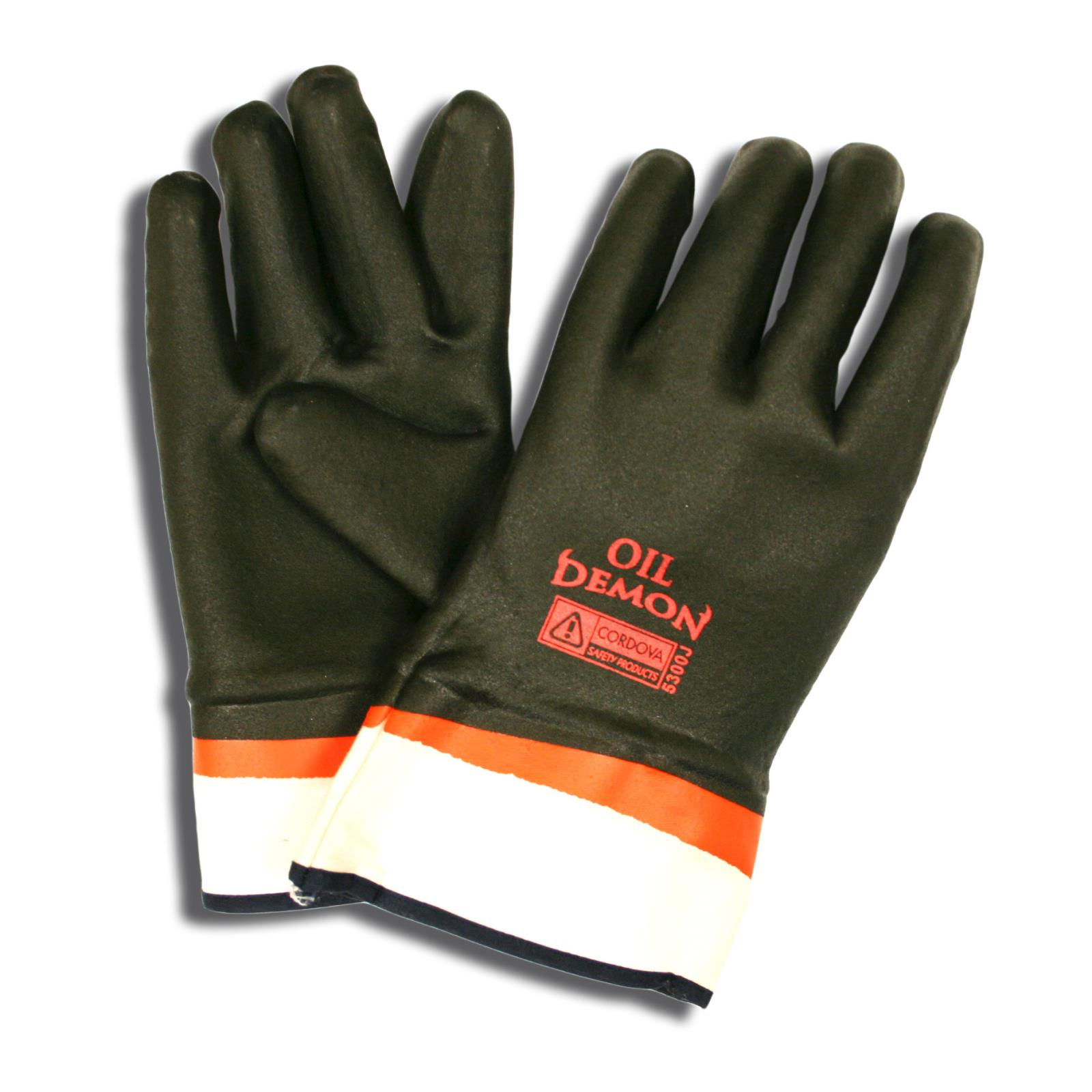OIL DEMON™ Supported PVC Gloves