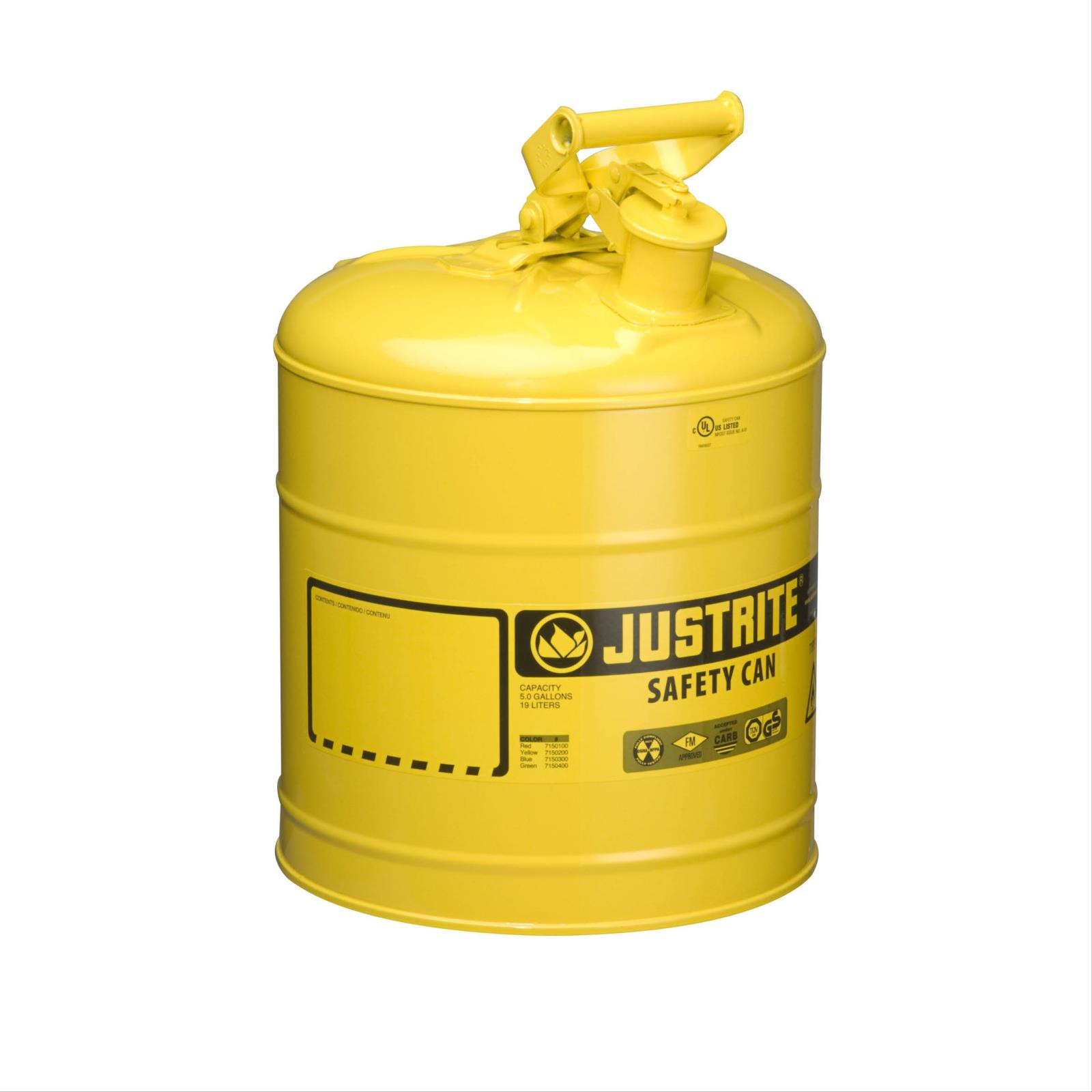 Type I Diesel Steel Safety Cans