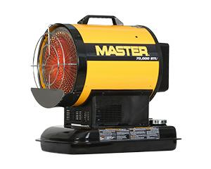 Master Portable Space Heaters