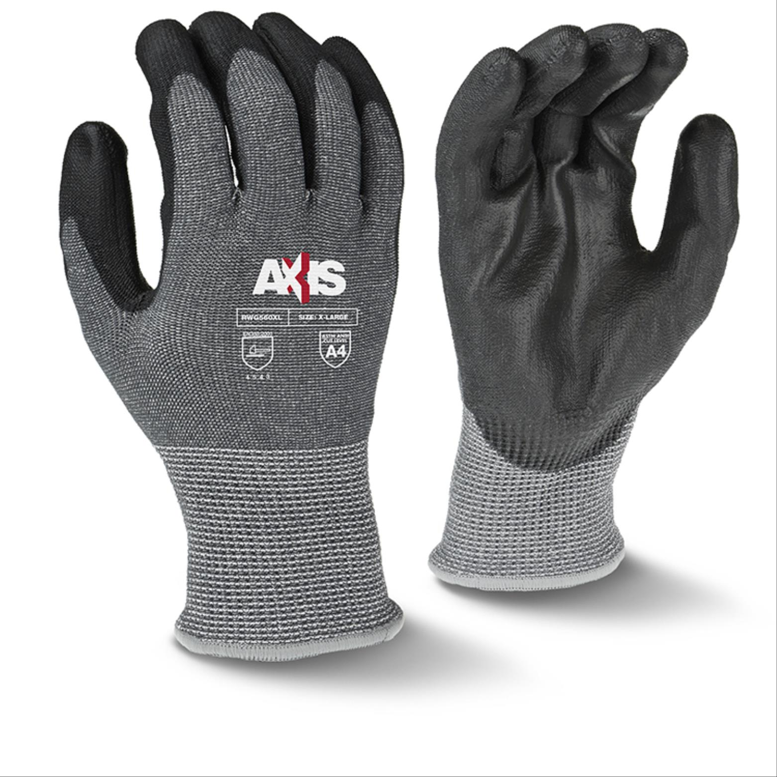 Axis™ HPPE Glove with Fiberglass, Cut Level A4
