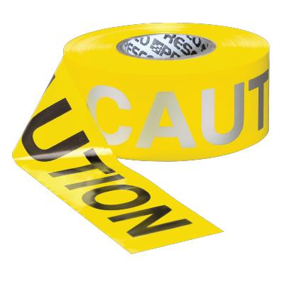 Day/Night Visibility Barricade Tape