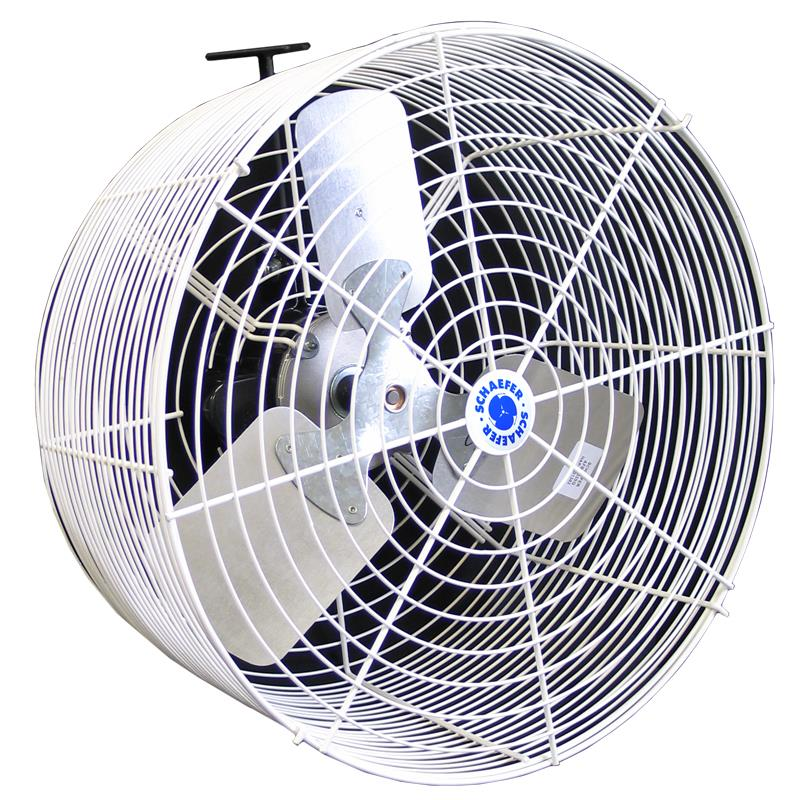 Schaefer Versa-Kool Deep Guard Circulation Fans