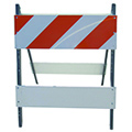 The use of barricades can protect workers on construction sites, redirect traffic and provide crowd control.  The SPI brand of Type I, II and III barricades are NCHRP-350 approved.