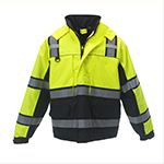 Hi-viz clothing for frigid climates to keep workers safe and visible regardless of weather or lighting conditions.