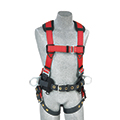 Safety Harnesses should be worn while working at heights to help reduce the risk of injury if a fall occurs.