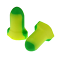 Disposable earplugs offer bright colors for easy compliance checks, provide comfort and of course protection from noise induced hearing loss.  Look at the SPI 100 Series for an effective solution!