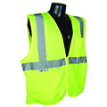 ANSI Class 2 compliant vests are designed for workers who perform tasks near approaching traffic, or are in close proximity to passing vehicles traveling at 25 miles per hour of higher.